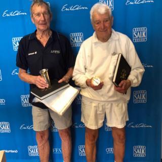 Ulf Ling Vannerus och Carl Henrik Nordström möttes i den inofficiella 90-årsklassen.