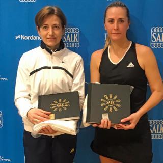 Finalister i klassen DS45: Astrid Olbers (SALK) och Kristina Ebenius (KLTK)