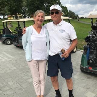 Värdparet Diana & Tom Sirelius