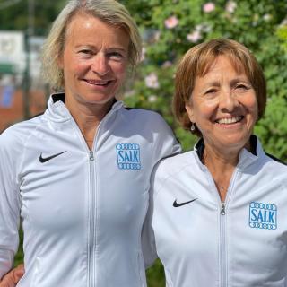 Salks D65-lag med Gunilla Berg och Edith Nordin.